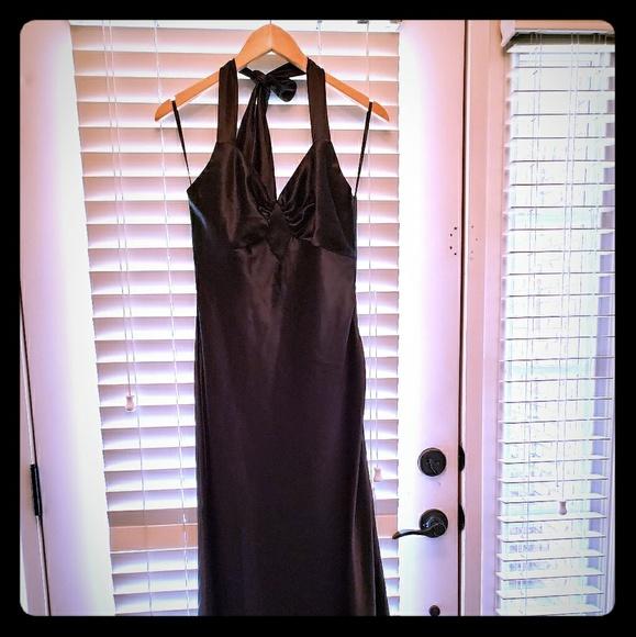Jessica McClintock Dresses   Vintage 1970s1980 Black Evening Gown ...